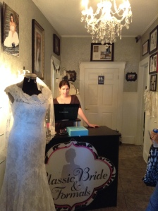 Entrance at Classic Bride & Formals